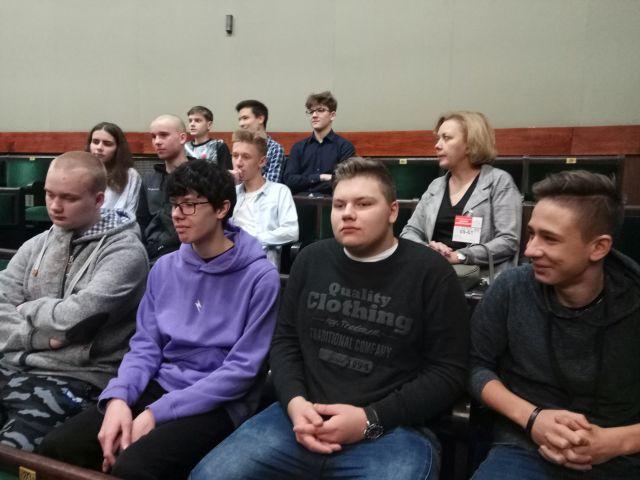 Oglądasz zdjęcia związane z artykułem: Lekcja demokracji w Sejmie